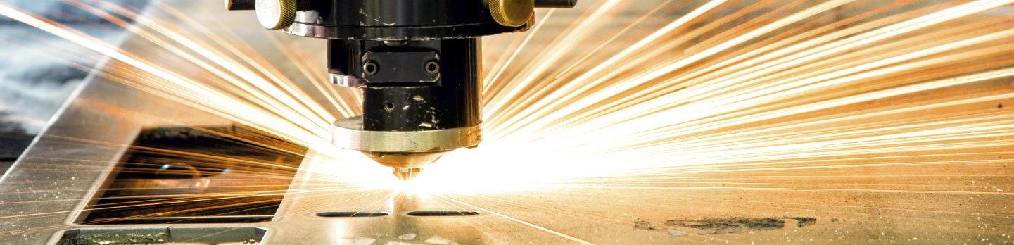 Laser metal cutting Bismarck
