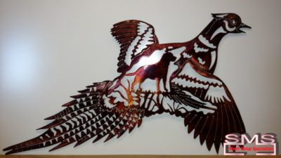 Metal Art Finish - Stained